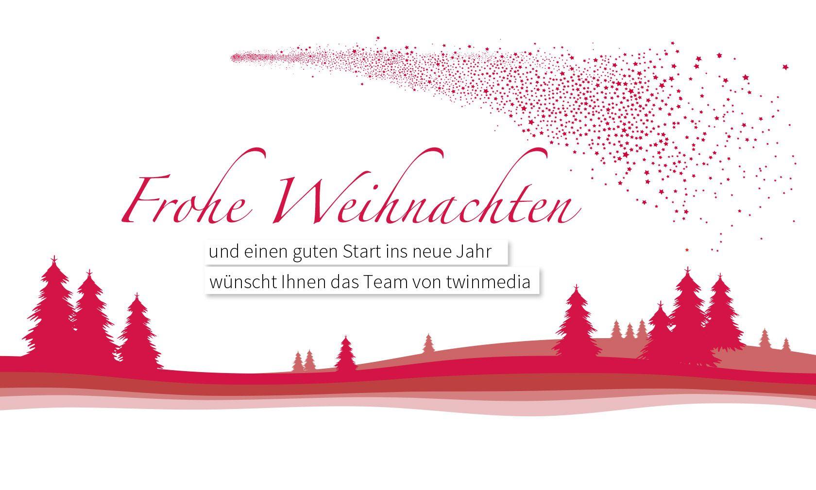 twinmedia Weihnachtsgruß. © twinmedia GmbH